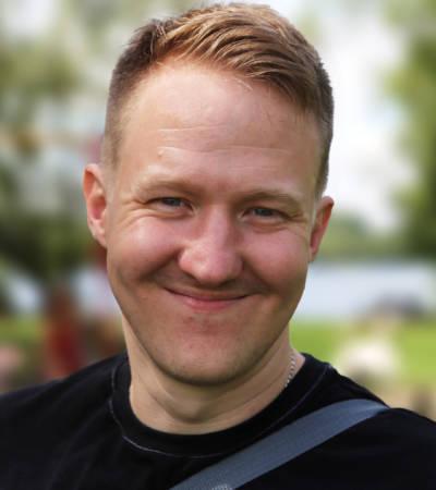 A Haydock Headshot author photo